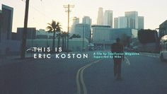 "This Is Eric Boston // Desillusion magazine Supported by Nike are proud to present their latest video ""This is Eric Koston"", a video portrait that pays tribute to the Legendary street skateboarder, Eric Koston."