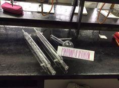 Material de destilación.