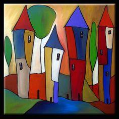 thomas c fedro artist Kunst Portfolio, Abstract Canvas Art, Art Moderne, Whimsical Art, Paint Designs, Fabric Painting, Painting Inspiration, Wood Art, Art Drawings