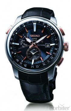 30 minutes off the wrist with the new SEIKO GPS Astron #gpswatch Amazing Watches, Beautiful Watches, Cool Watches, Watches For Men, Stylish Watches, Luxury Watches, Relogio Casio Edifice, Hand Watch, Bracelet Cuir