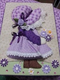 Resultado de imagen para tips for making sunbonnet sue quilt Sewing Appliques, Applique Patterns, Applique Designs, Quilt Patterns, Sewing Patterns, Applique Templates, Sunbonnet Sue, Mini Quilts, Baby Quilts