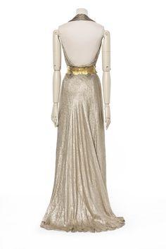 Madeleine Vionnet , maison de couture, 1936, robe du soir | Les Arts décoratifs