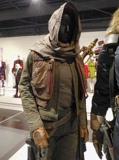 Jyn Erso Rogue One film costume