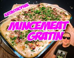 With Delicious mincemeat inside and some green stuff at the top. Do not forget to smash the vegetables with Rimus. Mincemeat, Sunshine, King, Vegetables, Kitchen, Food, Gratin, Cooking, Kitchens