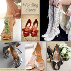 Wedding Shoes - Bridal Shoes  Brian Dorsey Studios – Valentino, Magenta Plus Lace Bridal Shoes and Boots, Lanvin, Lisa Lefkowitz – Manolo Blahnik, Aruna Seth