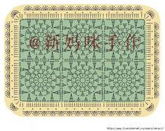 Crochet and arts: Blankets Motifs Granny Square, Love Crochet, Doilies, Crochet Stitches, Periodic Table, Blankets, Image, Periodic Table Chart, Periotic Table