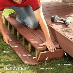 Backyard Decks: Build an Island Deck @paulmounsor