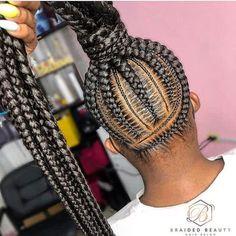 Latest Ghana Weaving Styles, Small Cornrows, Curly Hair Styles, Natural Hair Styles, Type 4 Hair, Natural Hair Journey, African American Women, Latest Hairstyles, Hair Goals