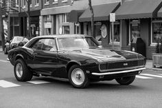 "1968 Camaro SS (""In Motion"" by Janusz Konrad, via Flickr)"