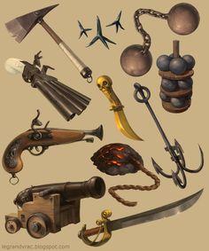 Pirates ! by Mathieu Leyssenne, via Behance