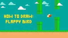 Adobe illustrator tutorial Flappy Bird, Adobe Illustrator Tutorials, Design Tutorials, Game Design, Letters, Illustration, Illustrations, Letter, Fonts