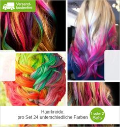 Haarkreide in 24 Farben Deal   Limango Deals für Familien