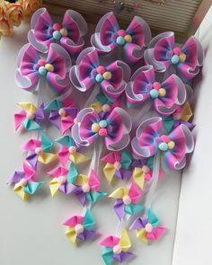 Making Hair Bows, Diy Hair Bows, Diy Bow, Diy Ribbon, Ribbon Hair, Ribbon Crafts, Baby Tiara, Bow Template, Diy Hairstyles
