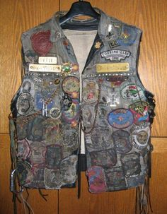 outlaw motorcycle club vest