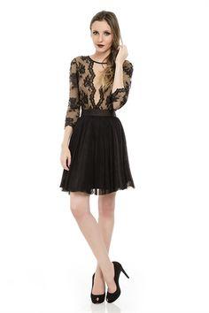 $794 Vestido Renda e Laço - roupas-festas-vestido-renda-e-laco Iorane