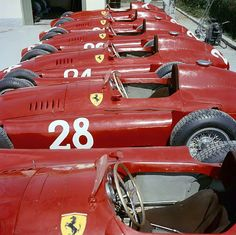 Squadra Rossa @ home (Ferrari D50, Monza, 1956)