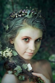beautiful nymphs | valkyriethais:Fey Things / Nymph. on We Heart It. http://weheartit.com ...