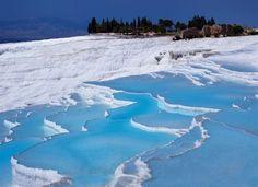 Piscinas naturales de Pamukkale, Turquía