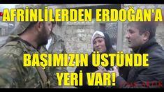 Afrinliler Erdoğan'ı Bağrına Bastı! | Zeytin Dalı Harekatı