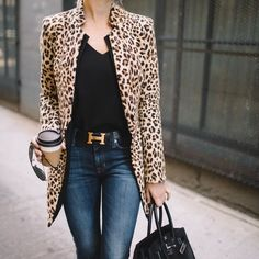Leopard jacket #fashion #Jacket #leopardprint
