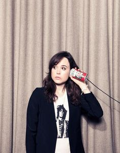 Ellen Page: Why won't people use the word feminist? Ellen Page, Pretty People, Beautiful People, Beautiful Women, Beautiful Person, Beautiful Things, Canadian Actresses, Actors & Actresses, Celebrity Portraits