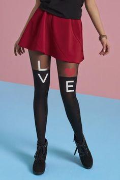 Love Is Külotlu Çorap.