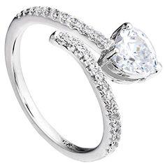 Ever Faith 925 Sterling Silber Herz CZ Love Herz Adjustable Open Party Ring - Größe 52 (16.6) N06394-1 Ever Faith http://www.amazon.de/dp/B011I95LI2/ref=cm_sw_r_pi_dp_HmfUvb1XQ6RDA
