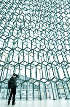 Ahhh... Iceland.  Harpa Concert Hall, Reykjavik Iceland // yrrgeirs
