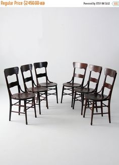Hey, I found this really awesome Etsy listing at https://www.etsy.com/listing/241783110/sale-antique-bentwood-chair-set-of-6