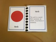Grammar cards, chart and booklets