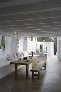 EN MI ESPACIO VITAL: Muebles Recuperados y Decoración Vintage: Para vivirlas en verano { Summertime houses }