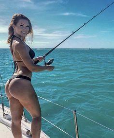 the officially City of Miami, is the cultural, economic and financial center of South Florida. Fishing Times, Gone Fishing, Fishing Stuff, Bikini Fishing, Hunting Girls, Saltwater Fishing, Country Girls, Country Women, Sexy Bikini