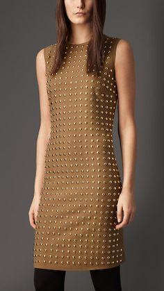 ~ Living a Beautiful Life ~ Burberry London Stud Detail Shift Dress