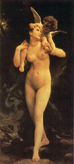 La Jeunesse et l'Amour, by William Bouguereau