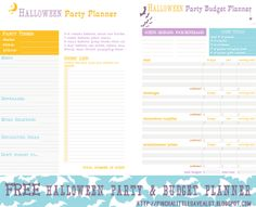 58 best holiday birthday event planner budget printables images on