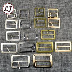 新しい10ピース/ロット20ミリメートル/25ミリメートル/30ミリメートル/35ミリメートル/40ミリメートルシルバーブロンズゴールドスクエアメタル靴バッグベルトバックル装飾diyアクセサリー縫製