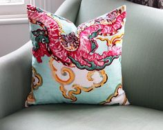 Jim Thompson Enter the Dragon Chinoiserie 20 Inch by