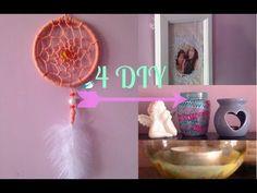 DIY 3 EN 1 ATTRAPE-REVES / DECO BRACELET ET COLLIER- Dreamcatcher DIY FRANCAIS - YouTube