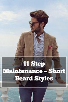 11 Step Maintenance – Short Beard Styles