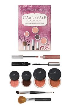 bare minerals collections. Being Sccottish with red/pink/white tinted skin with freckles this stuff is amazing. I love my forehead freckles but under my eyes above my high cheeks is red/pink mixed with my reddish/white overall face color is awful. This stuff is a makeup heaven send.