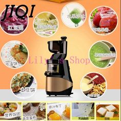 287.26$  Watch now - http://aik7z.worlditems.win/all/product.php?id=32629761313 - commercial Large diameter juicer machine multifunction smoothies power blender food fruit Juice Extractor processor EU US plug