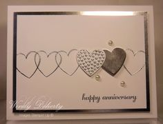 FF16rgrohall Silver Hearts by Wdoherty - Cards and Paper Crafts at Splitcoaststampers