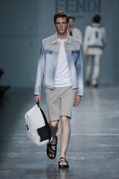 Fashion Show Gallery - Look 12 - Men's Spring Summer 2015 Collection | Fendi