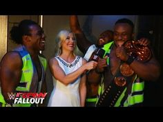 The New Day celebrates their victory: Raw Fallout, May 4, 2015