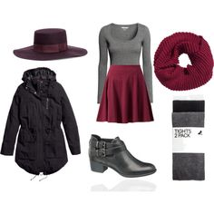 """""""Cold & windy OOTD"""" by jaleesi on Polyvore"""