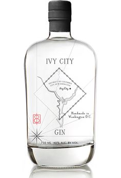 Ivy City Gin — The Dieline - Branding & Packaging