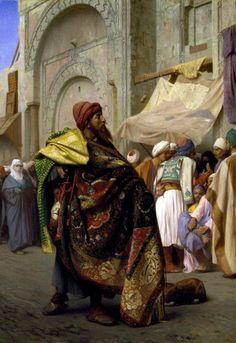 Seller carpets, rugs, orientalist