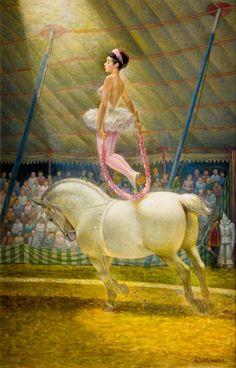 Robert Edward Weaver, Garland Jump c. Circus Poster, Poster On, Poster Prints, Circus City, Circus Circus, Halloween Circus, Horse Posters, Circus Performers, Send In The Clowns