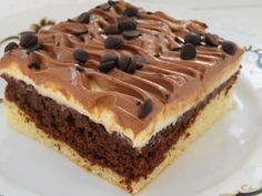 Recipe Nescafé řezy by lussy, learn to make this recipe easily in your kitchen machine and discover other Thermomix recipes in Dezerty a sladkosti. Czech Recipes, Russian Recipes, Sweet Desserts, Dessert Recipes, Croatian Recipes, Creative Food, Amazing Cakes, Sweet Tooth, Bakery