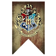 Rubie's Harry Potter Gryffindor, Slytherin, Hufflepuff, Ravenclaw, Hogwarts House Wall Banner Set of 5 Harry Potter Banner, Harry Potter Thema, Cumpleaños Harry Potter, Harry Potter Merchandise, Harry Potter Cosplay, Harry Potter Birthday, Harry Potter Characters, Casas Estilo Harry Potter, Harry Potter Classroom